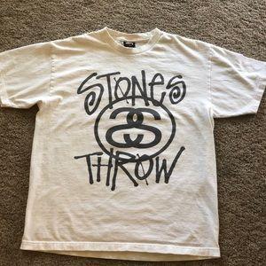 Men's Stussy x stones throw